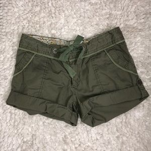 Charlotte Russe olive shorts: Price negotiable!